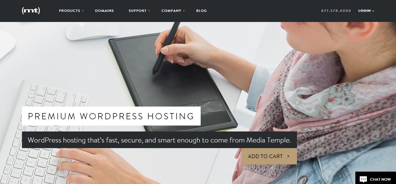 mediatemple managed wordpress hosting