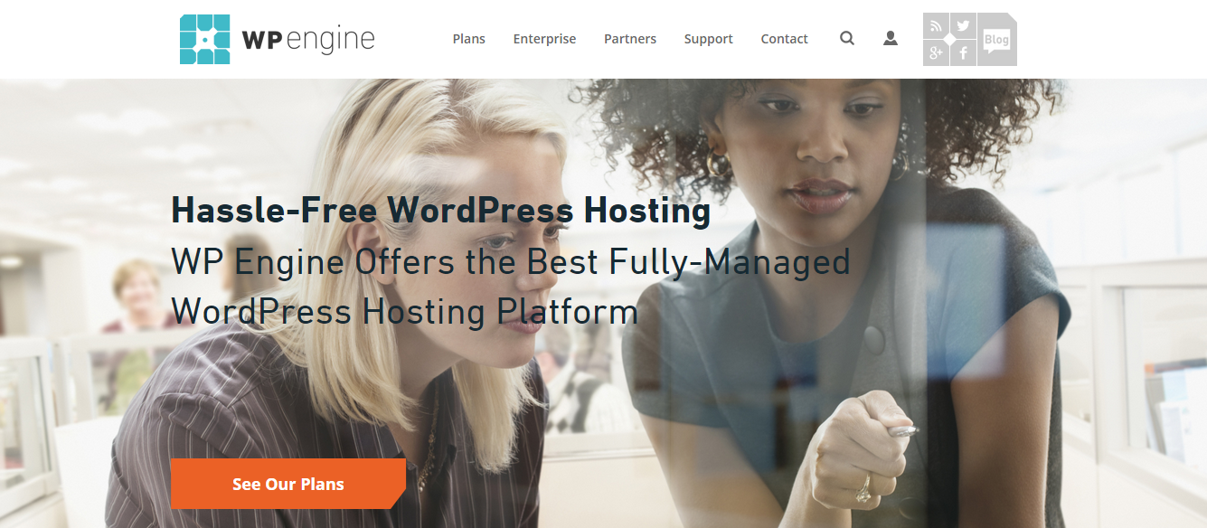 wpengine managed wodpress hosting