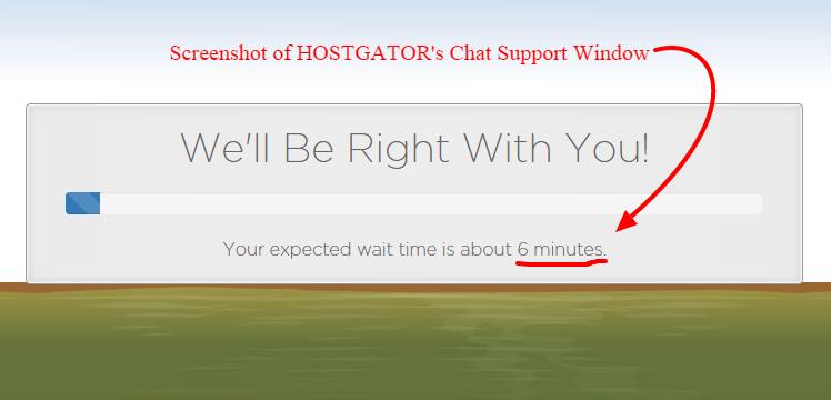 hostgator chat support