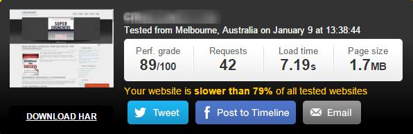 siteground wordpress hosting speed test