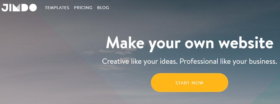 jimdo free advance website builder