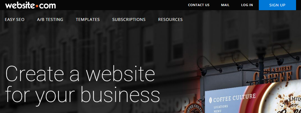 Website.com best free online website builder