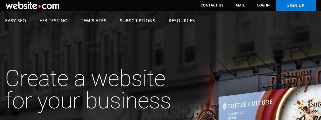 Website.com best free online website builder
