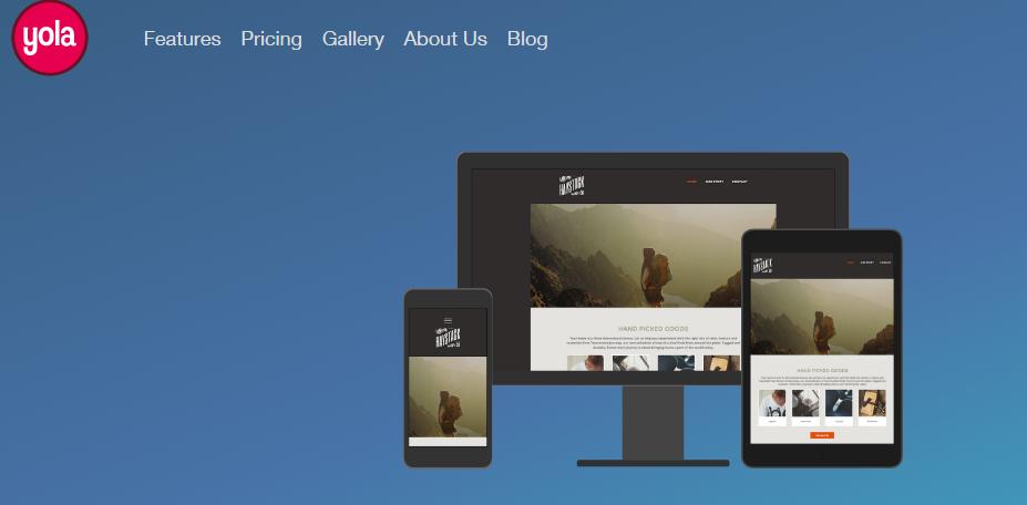 yola free website maker