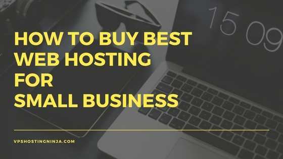 buying a web hosting for small business