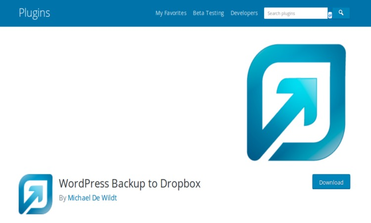 WordPress Backup to Dropbox Plugin
