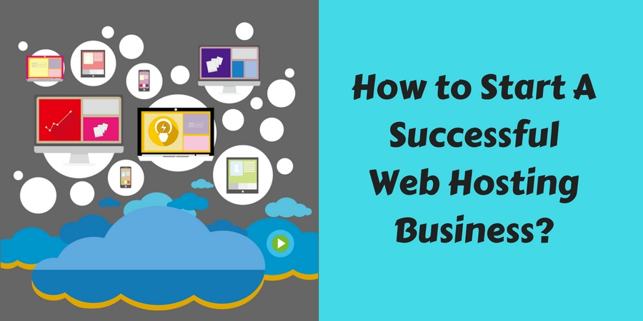 start a web hosting business