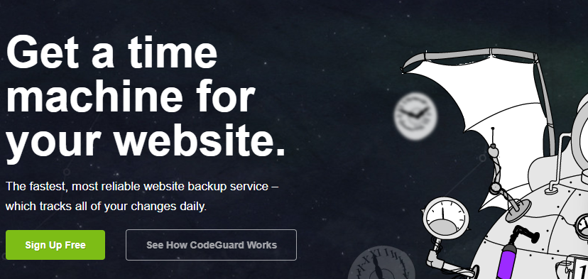 CodeGuard WordPress Cloud Backup Plugin