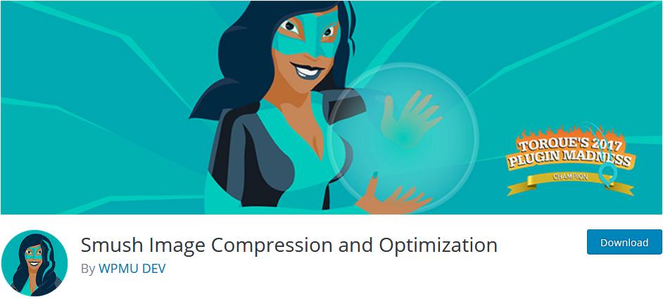 smush image compression plugin for WordPress