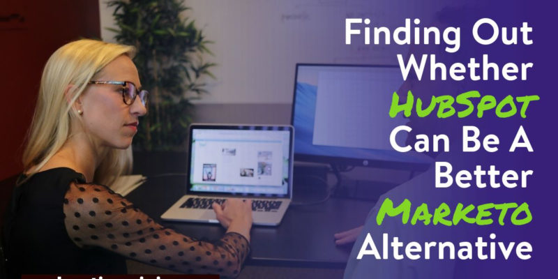 hubSpot marketo alternative